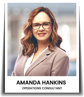 </p> <h4>Amanda Hankins</h4> <p>